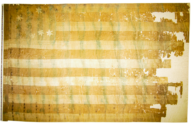 Thirteen Star American Flag, Tennessee State Museum Collection.