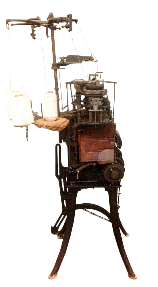 Knitting Machine used in Englewood, Tennessee, Tennessee State MusemCollection.