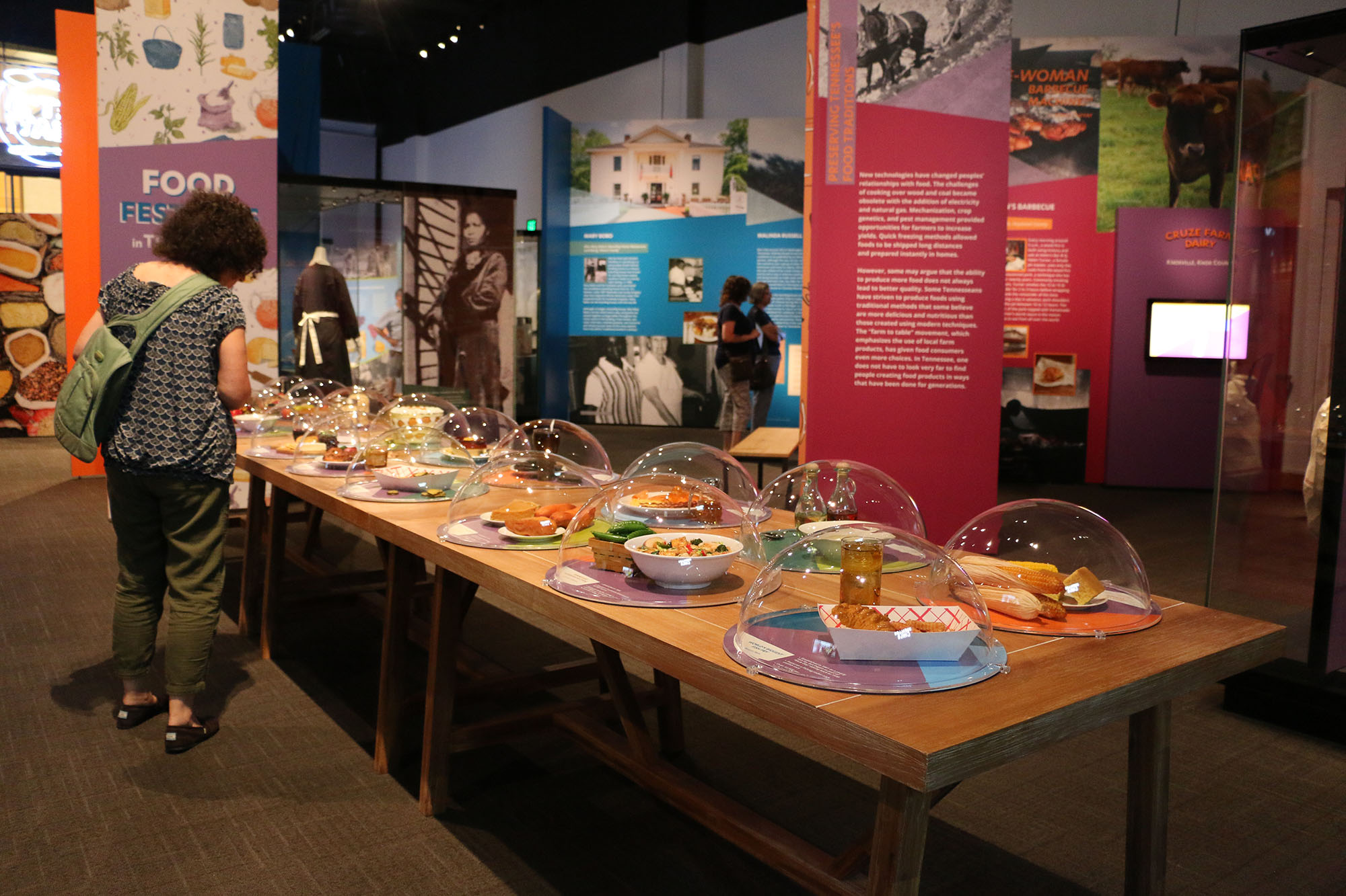 Food Festivals in Tennessee in Let's Eat! Exhibition