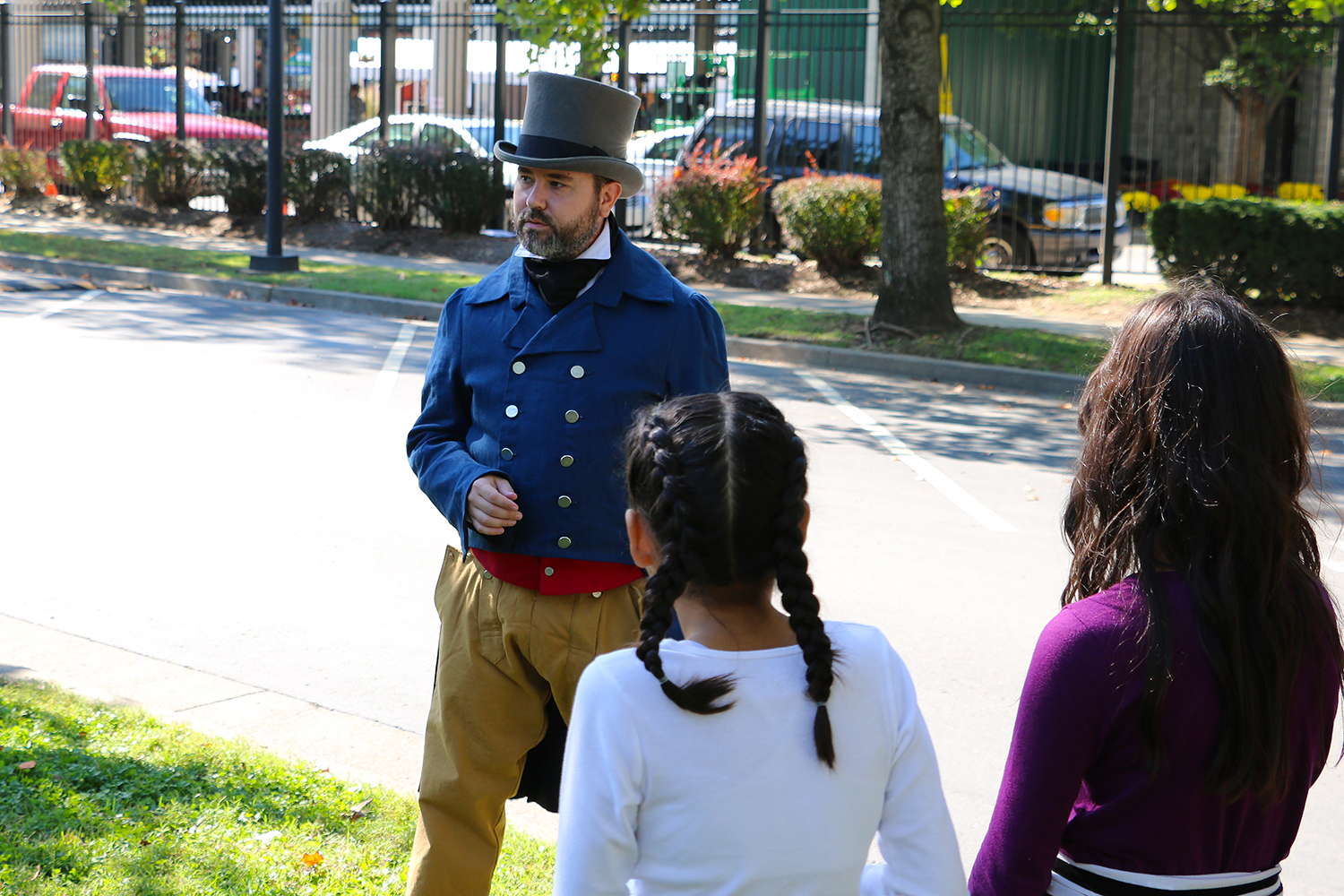 Living History Programs at the Tennessee State Museum