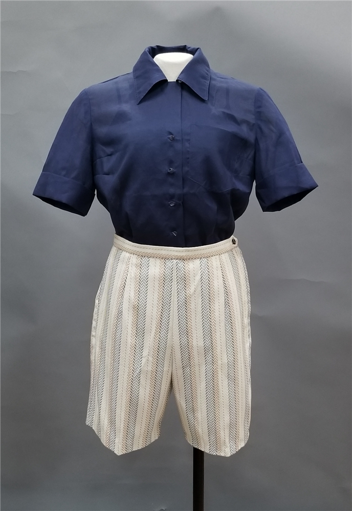 c. 1950s outfit worn by Louella Stribling (89.33.18B)