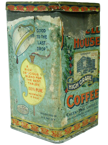 Maxwell House Coffee Paper Tin (Tennessee State Museum Collection)