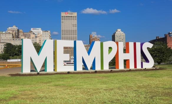 Let's Go See Mud Island River Park (memphistravel.com)- Alex Shansky- Be sure to snap some selfies in front of the 50 ft Memphis Sculpture