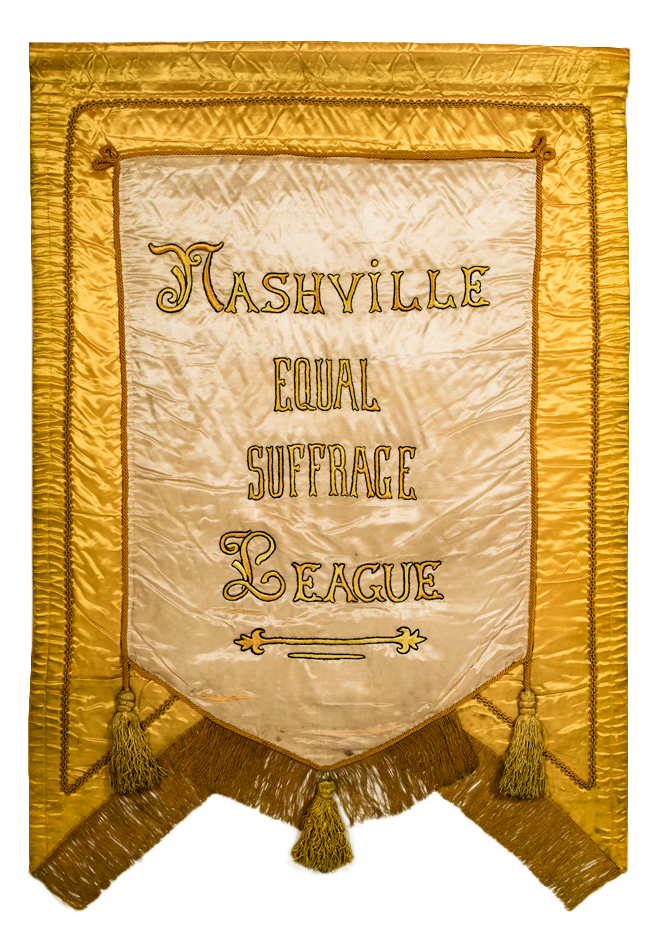 Nashville Equal Suffrage League Banner