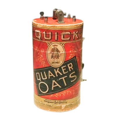 Quaker Oats Crystal Radio