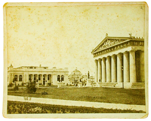 This is a picture of the Parthenon which was built for the Tennessee Centennial Exposition. Courtesy of the Tennessee State Museum collection