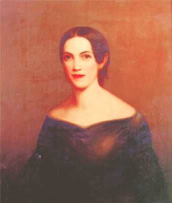 Portrait of Adelicia by Washington B. Copper in 1834, Tennessee State Museum Collection.
