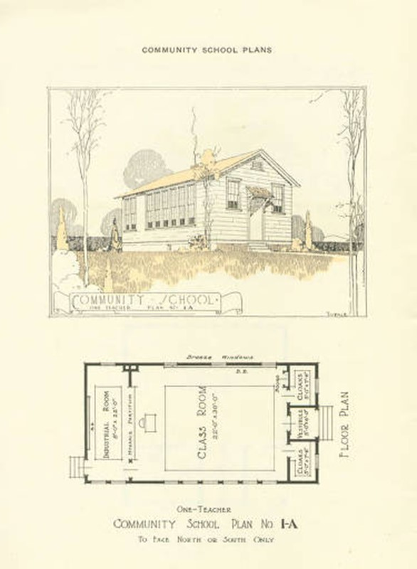 Rosenwald School Plans