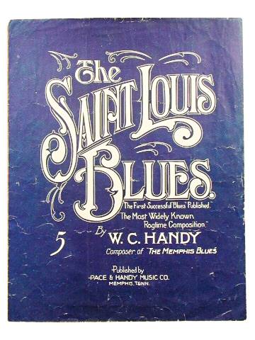 St. Louis Blues sheet music  (Tennessee State Museum Collection)