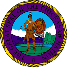 The Great Seal of the Chickasaw Nation (Courtesy of The Chickasaw Nation).