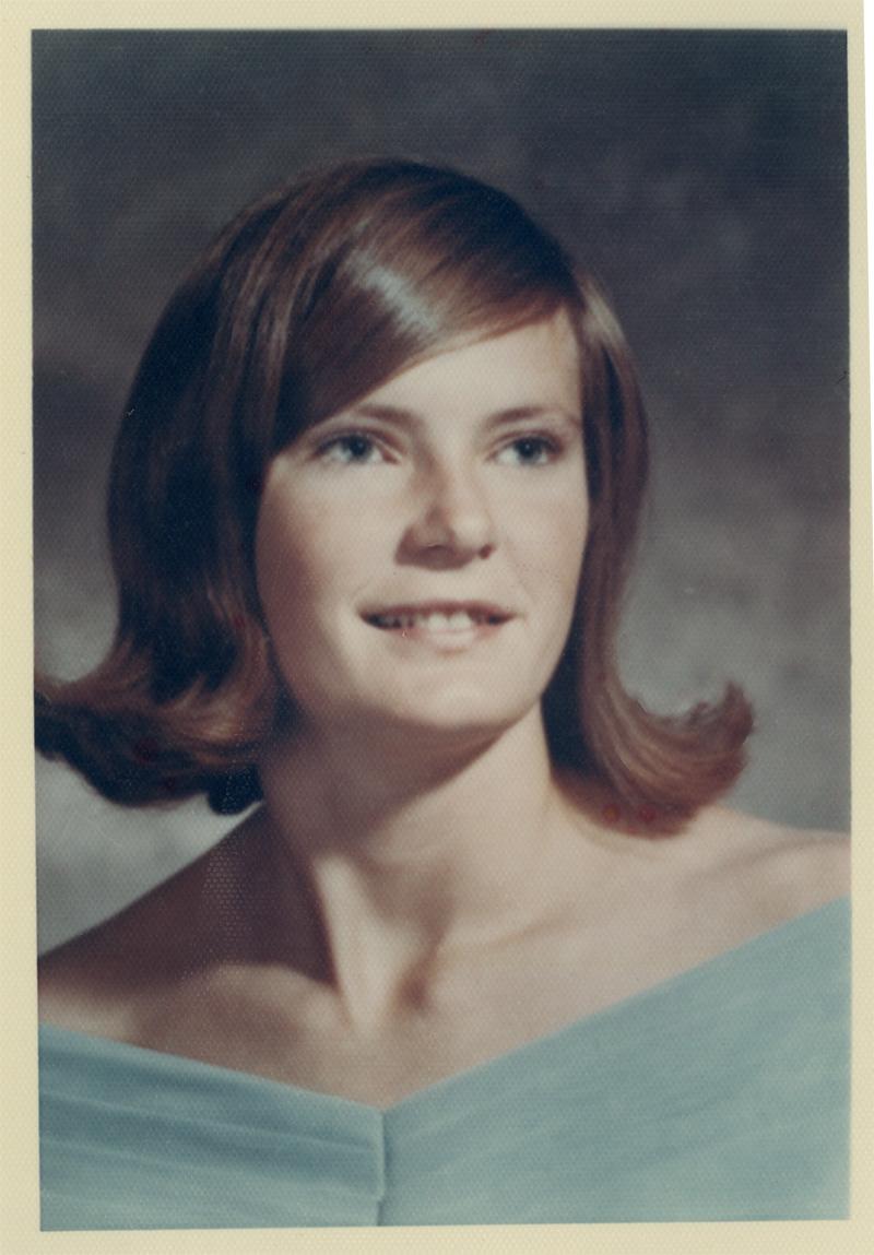 Pat Summitt, circa 1970.