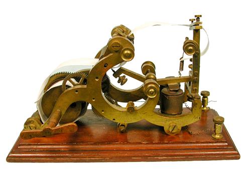 Morse Recording Register, 1840-1865 (92.92)