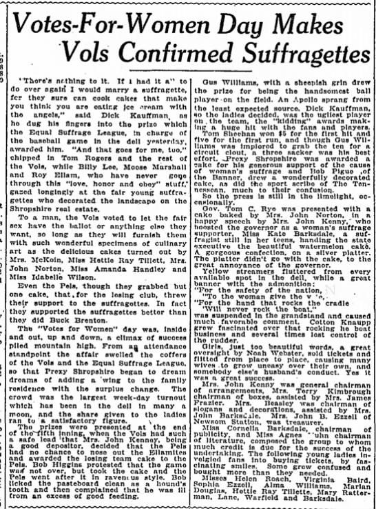 Tennessean 1916