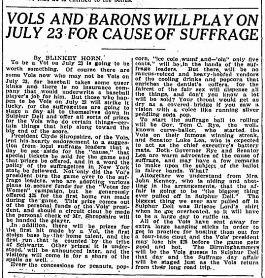 Tennessean June 20, 1915