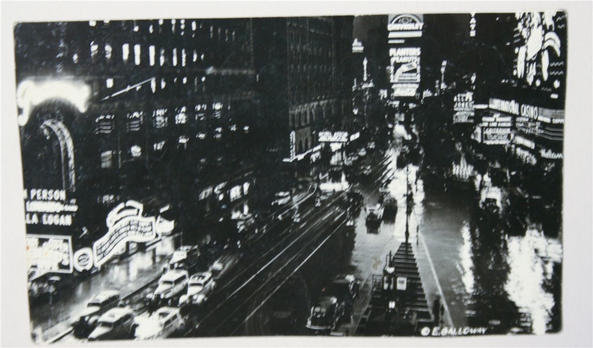 Post Card of Times Square
