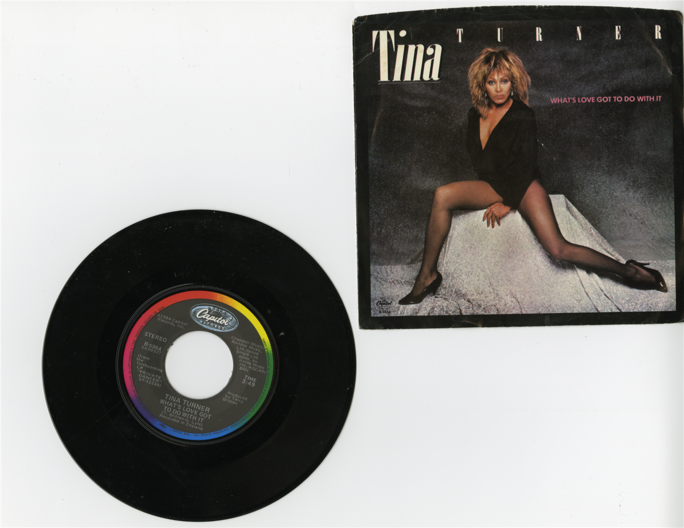 Tina Turner Vinyl Album. Tennessee State Museum Collection.