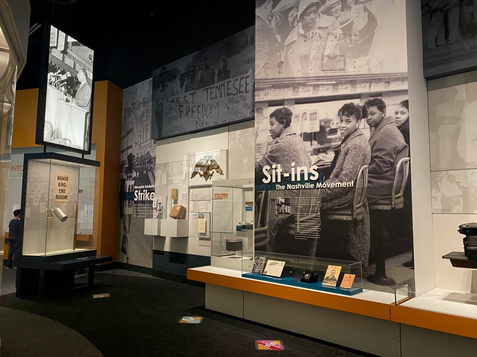 Civil Rights Display in Tennessee Transforms