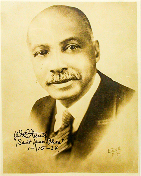 W.C. Handy autographed photograph (Tennessee State Museum Collection