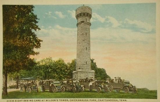 Wilders Tower Postcard