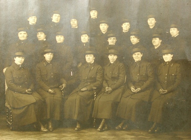 World War I Nurses in Vanderbilt Unit
