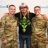 Soldiers and veterans met with Bret backstage.