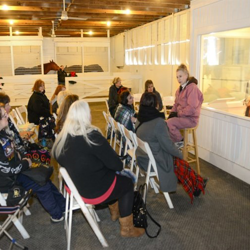 The stables at Graceland were opened for tours during Elvis Birthday Celebration events.