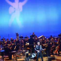 Terry Mike Jeffrey performs with the Memphis Symphony Orchestra at Tribute to Elvis: Birthday Celebration on January 10.