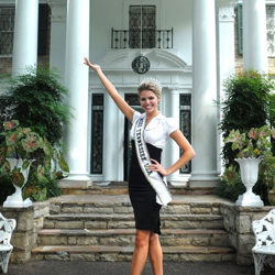 Kristen Motil, 2009 Miss Tennessee