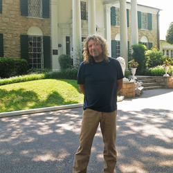 Robert Plant, Lead Vocalist of Led Zeppelin