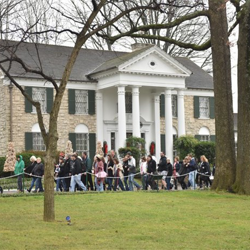 Fans from all over the world attended the Elvis Birthday Proclamation Ceremony on Graceland