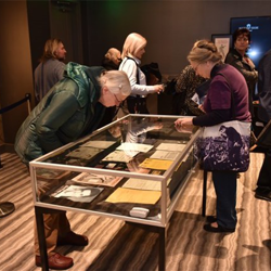 Guests had the opportunity to view the lots in the Auction at Graceland, which took place January 7.