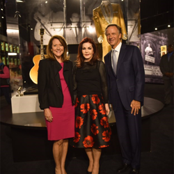 Priscilla Presley gave Tennessee Governor Bill Haslam and his wife, Crissy, a tour of Elvis Presley