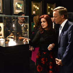 Priscilla Presley gave Tennessee Governor Bill Haslam a tour of Elvis Presley
