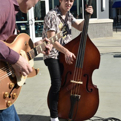 Will Tucker and his band performed during the Grand Opening Celebration for Elvis Presley