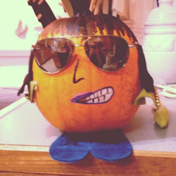Submitted by Kayce #ElvisPumpkin