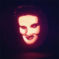 Submitted by Jenna #ElvisPumpkin