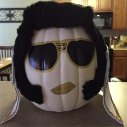 Submitted by Stacy #ElvisPumpkin