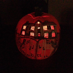 Submitted by Ashley #ElvisPumpkin