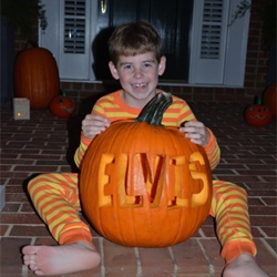 Submitted by Truman. #ElvisPumpkin