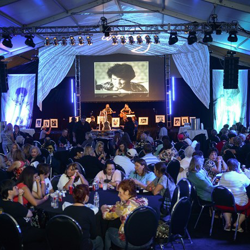 "VIP ticket holders enjoy a special reception prior to ""Elvis: That"