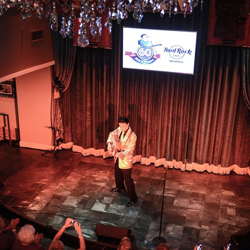 Elvis tribute artists compete at Hard Rock for the final spot in the 2014 Ultimate Elvis Tribute Artist Contest Semifinals.