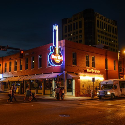 Hard Rock Memphis gets a new home at 126 Beale Street in Memphis, Tennessee.