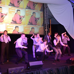 Elvis A Cappella groups rehearse for the first-ever shows at Elvis Week 2014!