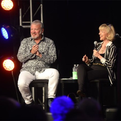 Sandy Martindale tells Tom Brown about he relationship with Elvis at the Official Graceland Insiders Conference.