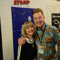 Sandy Martindale spoke at the Graceland Insiders Conference and served as an Ultimate ETA Contest judge, and her husband Wink Martindale spoke at Conversations on Elvis.