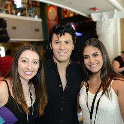 Fans snapped photos with ETAs at the Hard Rock Cafe in Memphis.