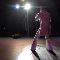 The Ultimate Elvis Tribute Artist Contest took place in downtown Memphis.