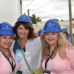 The Founders of The Guest House at Graceland enjoyed a hard hat tour of the new hotel.