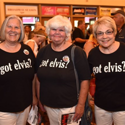 Fans showed up to cheer on their favorite Semifinalists at the Ultimate Elvis Tribute Artist Contest Semifinal Round.