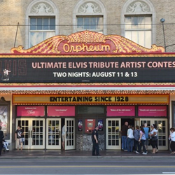 The Ultimate Elvis Tribute Artist Contest took place at the Orpheum in downtown Memphis.